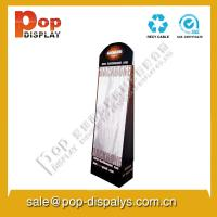 Wholesale Marketing Cardboard Hook Display Stands Black For Makeup / Masks from china suppliers