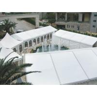 Wholesale High Strength White PVC Tarpaulin Tent for Exhibition or Wedding Events from china suppliers