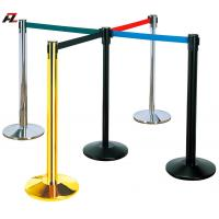 Wholesale Crowd Control Rope Lines with Retractable Belts-Bank Retracted Barrier Control from china suppliers