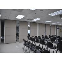 Wholesale Plywood Meeting Room Hanging Sliding Door Banquet Hall Partition Wall from china suppliers
