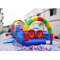 Wholesale Rainbow Inflatable Obstacle Course from china suppliers