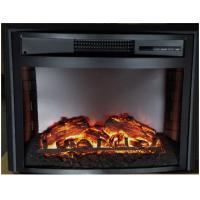 "Wholesale 26"" curved insert electric fireplace heater  LED flame firebox WF2613L built-in electric stove from china suppliers"