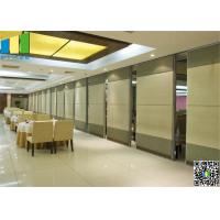 Wholesale Melamin Hanging Sliding Door Aluminum Frame Panel Width 1000 mm from china suppliers
