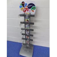 Buy cheap Freestanding Metal Chocolate Sweet Display Stand 12 Hooks For Snacks Store from wholesalers
