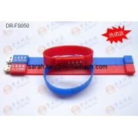 Wholesale Silicone Bracelet USB Flash Drives DR-FS050 from china suppliers