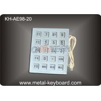 20 Keys Stainless Steel Industrial Keyboard with USB or PS/2 interface