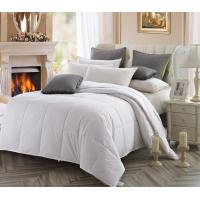 Buy cheap Customized White Cotton 233 TC Duck Down Duvet For Sheraton Hotel from wholesalers