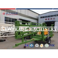 Quality AC 2.2Kw Hydraulic Lifting Platform Trailer Mounted Cherry Picker Man Lift For Sale for sale