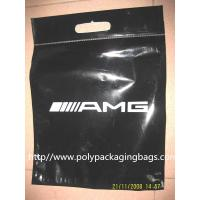 Wholesale ECO Friendly Loop Handle Bottom Gusseted Poly Bags For Clothing from china suppliers