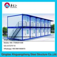 Wholesale Easy built container living dormitory house refugee camp from china suppliers