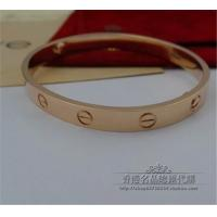 Wholesale 18K Pink Gold No Diamond LOVE Bracelet Paris Brand Jewelry Love Series Bangle B6035617 from china suppliers