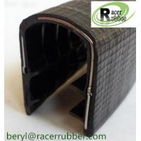 Wholesale U Channel Rubber  Trim Edge  with Metal insert from china suppliers
