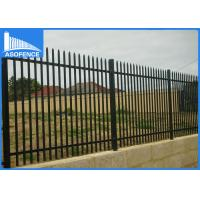 Wholesale 360 Degree Full Welded Steel Panel Fence For Garden High Anti Corrosion from china suppliers