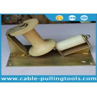Wholesale 10KN Corner Cable Pulling Roller With Nylon Wheel For Cable Pulling from china suppliers