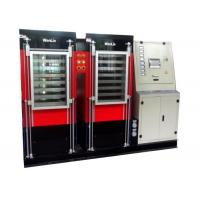 Wholesale PLC Control Plastic Card Laminating Machine 7 daylights red color 400 * 500mm from china suppliers