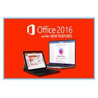 Quality Original Key Microsoft Office 2016 Professional Plus Software Retailbox With USB for sale