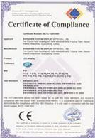 Shanghai Ranen New Energy Equipment & Technology Co., Ltd. Certifications