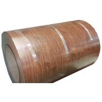 Wholesale Full Hard HB PPGI Wooden Color Coated Steel Coil Construction Materials from china suppliers