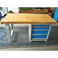 Wholesale Tool Workshop Stainless Steel Work Bench With Butcher Block Hardwood Bench Top from china suppliers