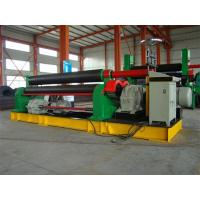 Wholesale 3 Roll Plate Rolling Machine For 12mm Thickness 300mm Width Plate , 11KW Motor Power from china suppliers