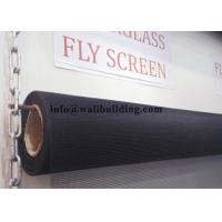 Wholesale Mosquito / Bug Fiberglass Solar Screen Charcoal Fiberglass Screen 120g/M2 from china suppliers