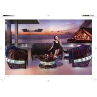 Wholesale high class rattan sofa wicker luxury hotel sofa garden sofa set from china suppliers