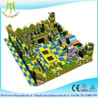 Wholesale Hansel Factory supply foam kids game zone indoor block building playground from china suppliers