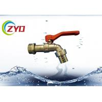 Wholesale 3 / 4 Inch Bibcock Taps For Water Using High Pressure Different Size Optional from china suppliers
