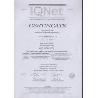 Qida Chemical Co., Ltd Certifications
