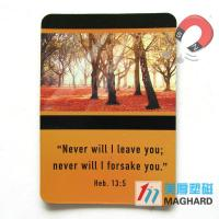 Wholesale Picture 4C Printing Advertising Fridge Magnets Personalized as Souvenir from china suppliers