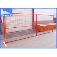 Wholesale Canada Temporary Steel Fencing , Wire Fencing Panels 20*1.2mm Rail from china suppliers