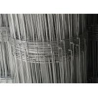 Wholesale Livestock  Hog  Cow  Garden Yard 6ft High Wire Fencing Fabric  Galvanized 50m Or 100m / Roll from china suppliers