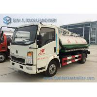 Buy cheap 6000L Sinotruk Howo Light Series Sanitation Truck , 4x2 Vacuum Sewage Suction Truck from wholesalers