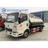 Buy cheap 6000L Sinotruk Howo Light Series Sanitation Truck , 4x2 Vacuum Sewage Suction Truck from wholesalers