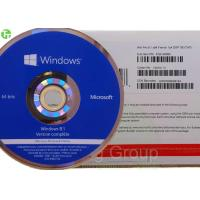 Quality Online Activation Windows OEM Software , Windows 8.1 Professional Version for sale