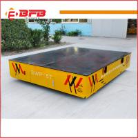 Hot sale Industrial Motorized steerable transfer car on cement floor China factory