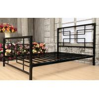 Wholesale Antique Style Metal Frame Bed Double Size For Country Or Urban Decor from china suppliers