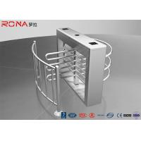 Wholesale Pedestrian Swing Barrier Waist Height Turnstiles Entrance RIFD Access Control from china suppliers