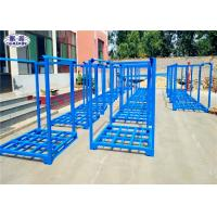 Wholesale Stackable Tire Racks For Warehouse , Powder Coated Metal Stackable Steel Racks from china suppliers
