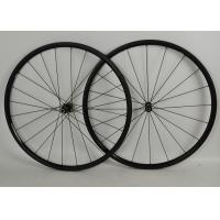 Wholesale Full Carbon Road Bike Wheels 700c Black With NOVATEC Straight Pull Hub from china suppliers