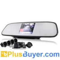 Wholesale Car Rearview Camera + Parking Sensor + 3.5 Inch Rearview Monitor from china suppliers