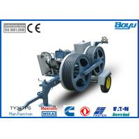 Wholesale 1200mm Bull-wheel Hydraulic Pull Tension Machine 35kn 3.5t Diesel Cummins from china suppliers