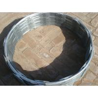 Wholesale 304 316 PVC Coated Razor Barbed Wire Metal Mesh Fencing Galvanized Blue from china suppliers
