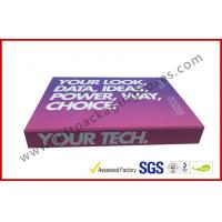 Wholesale Soft Touch Lamination Rubber Finished Cardboard Gift Boxes Hi End USB Recyclable Display from china suppliers