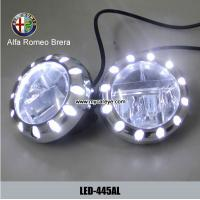Wholesale Alfa Romeo Brera car front fog lights led auto parts driving daylight DRL from china suppliers