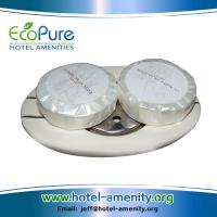 Wholesale Round pleat wrapped hotel soap , guest soap , hotem amenities soap from china suppliers