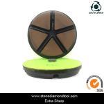 "3"" 80mm Ceramic Resin Bond Diamond Grinding Disc Stone Floor Polishing Pads"