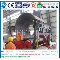 Wholesale Wind tower manufacturing Hydraulic CNC Plate rolling machine,plate bending machine from china suppliers