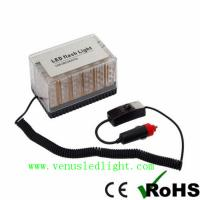 Wholesale 48 LED Amber Car Roof Flashing Flash Strobe Emergency Top Light from china suppliers