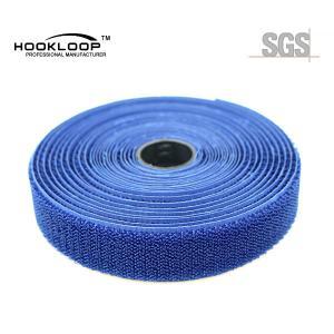 Wholesale Blue Brushed Hook Loop Fastener , 3 Inch Hook And Loop For Sleep Eye Mask from china suppliers